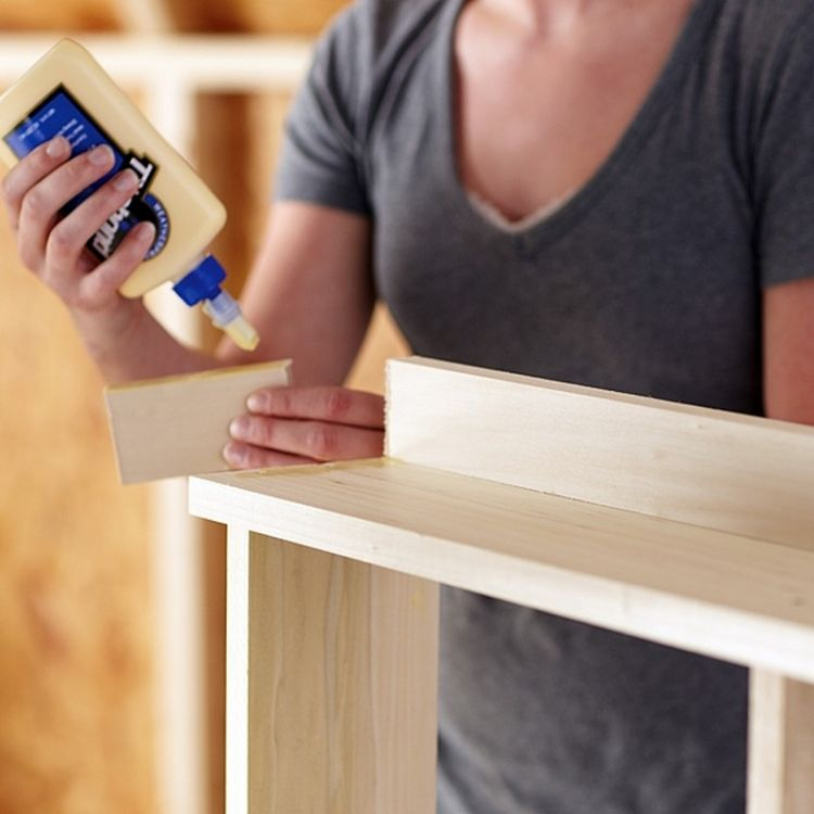 fabriquer une armoire murale et table rabattable balcon diy bookcase closet island bar and. Black Bedroom Furniture Sets. Home Design Ideas