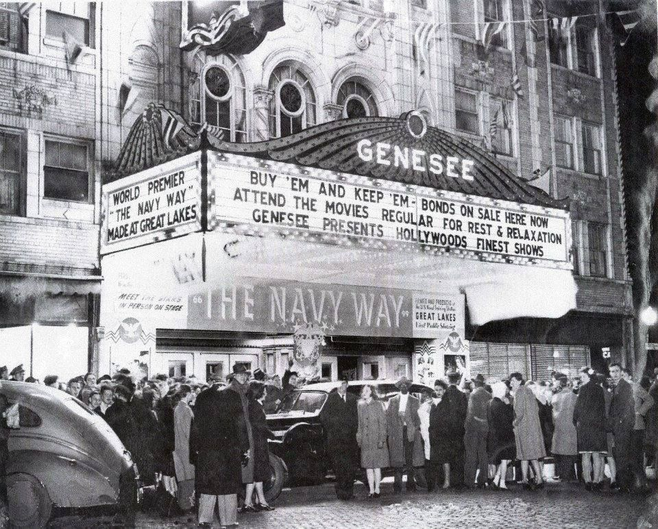 March 24th 1944 Genesee Theatre Premiere Of The Navy Way