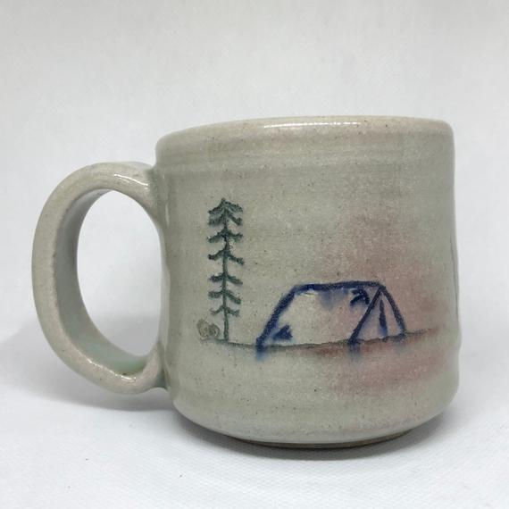 Handmade Camping Outdoors in the Wild Ceramic Mug in 2019 | Products