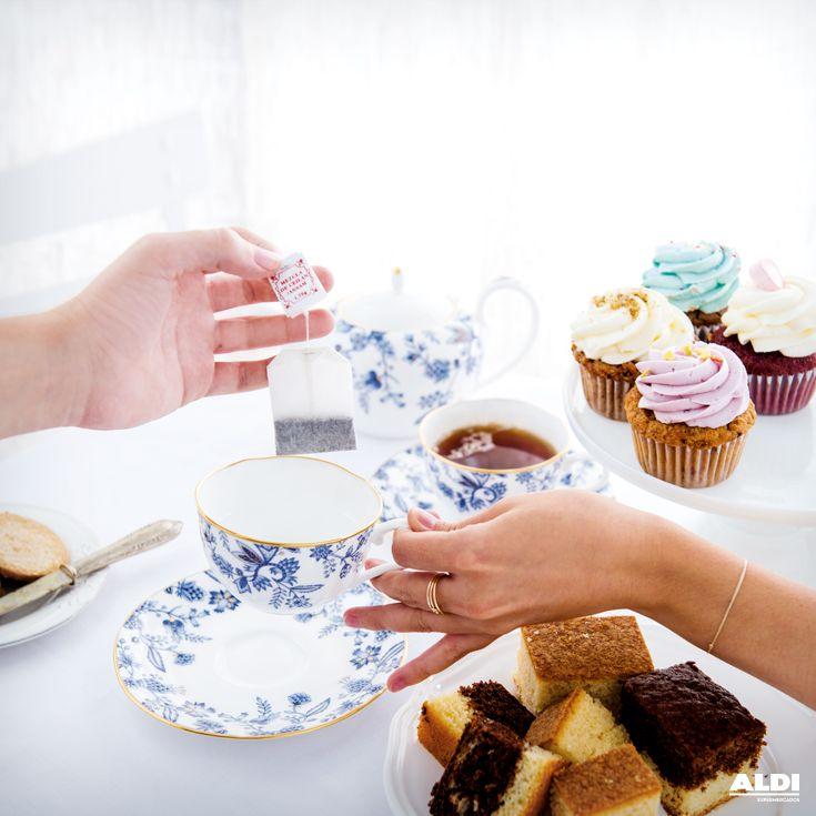 Delicioso té con pastas #teatime