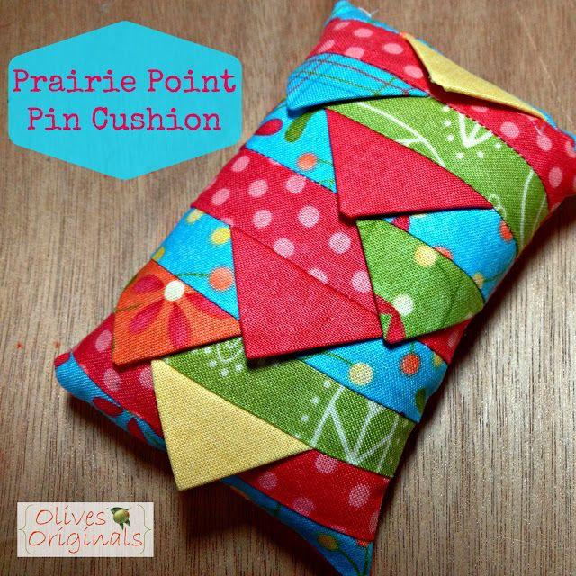 Olives Originals: Prairie Point Pin Cushion