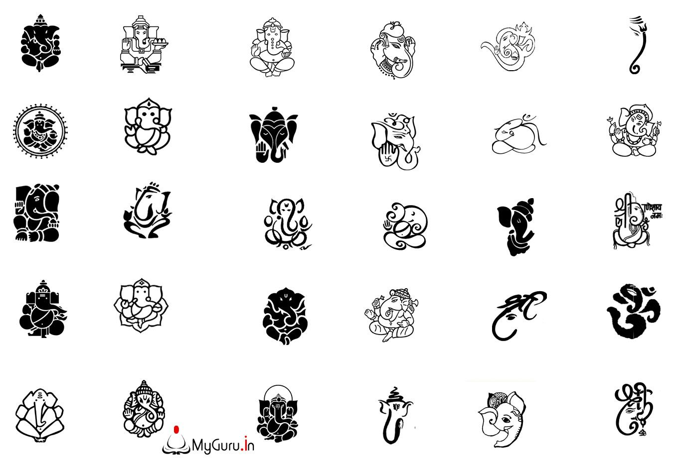 hindu tattoo studio - Google zoeken | Ganesha & Tattoo ...