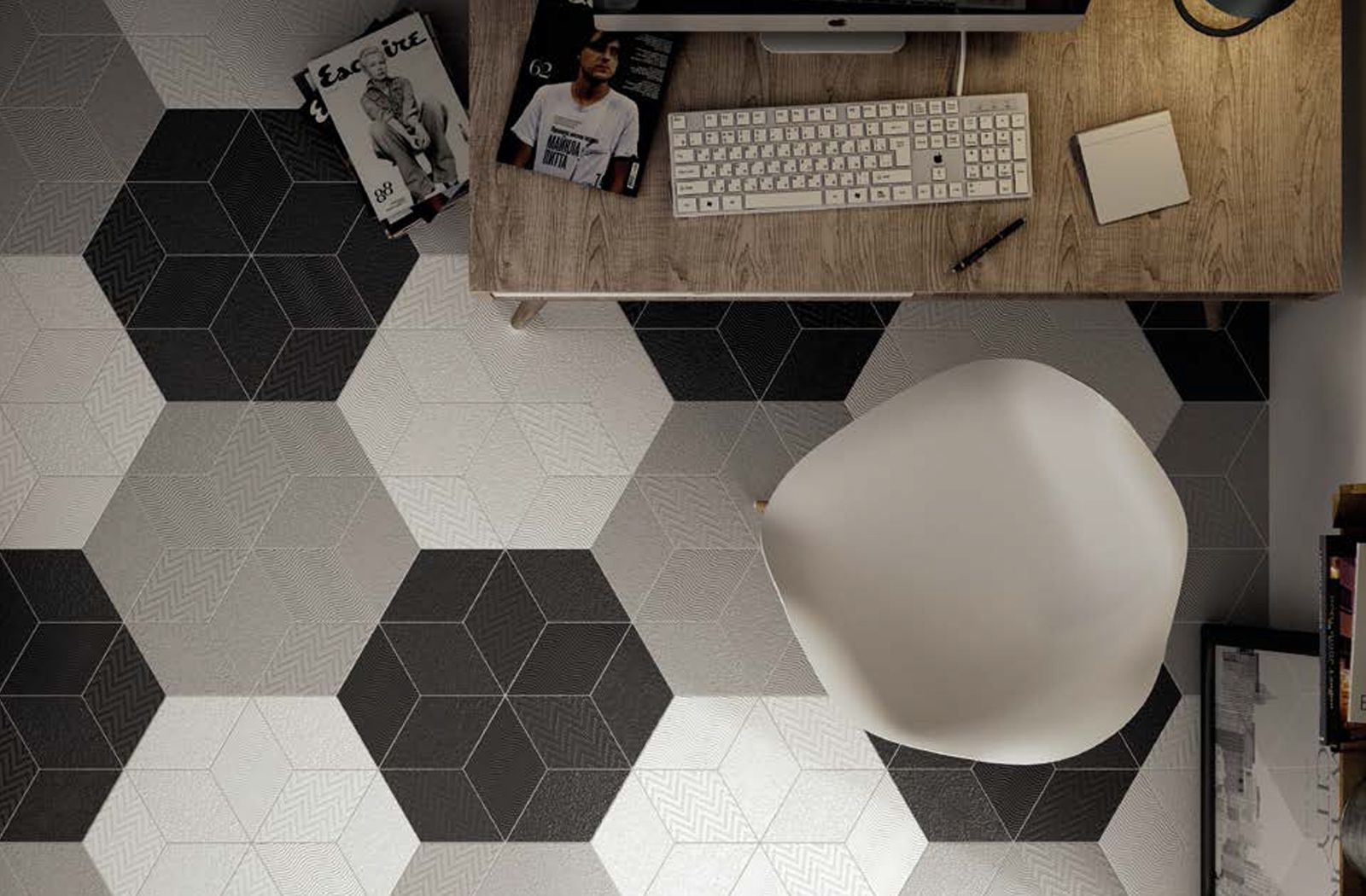 Pin By Hafary On Detail Material Porcelain Flooring Contemporary Tile Floor And Wall Tile