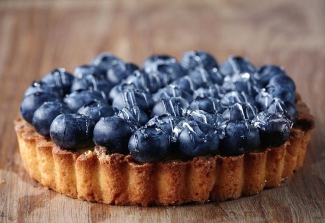 homemade blueberry cake