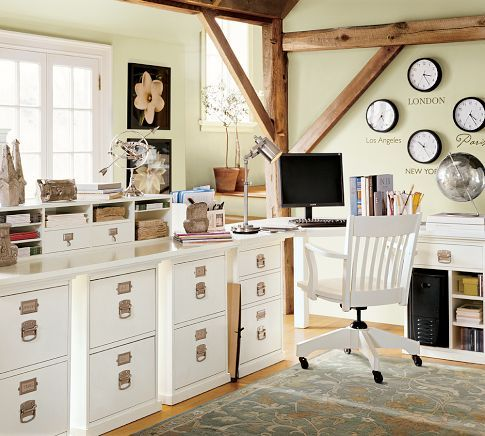 build your own home office. Build Your Own - Bedford Home Office Modular Components | Pottery Barn