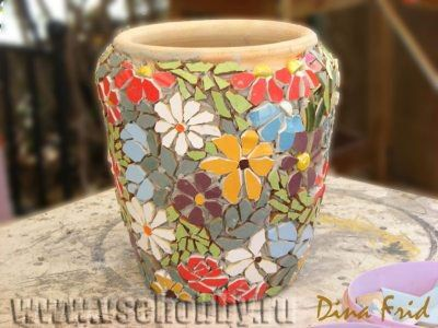 ideas para decorar macetas de ceramica 1