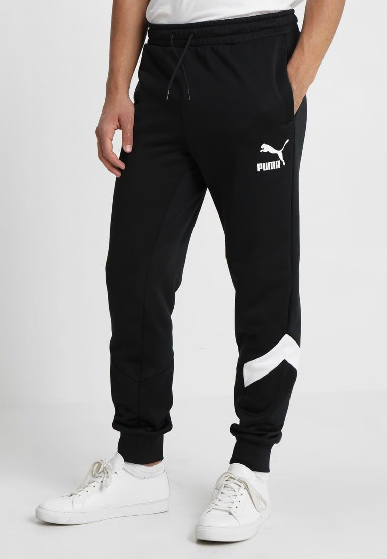38178b1f4e59 Puma TRACK PANTS - Tracksuit bottoms - black - Zalando.co.uk