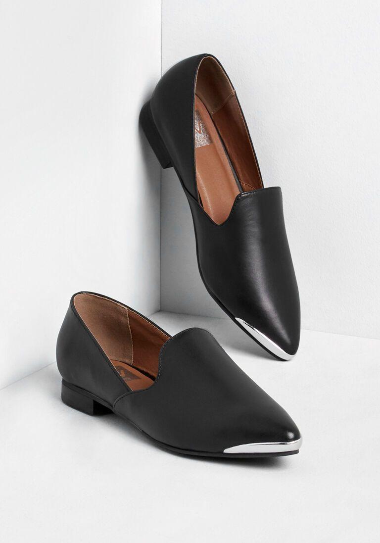 You Ve Arrived Leather Loafer In 5 5 Black Loafers Women Loafers Leather Loafers [ 1097 x 768 Pixel ]