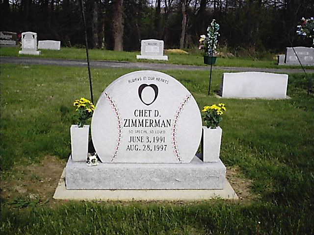 Baseball Stone For A Young Fan Pet Cemetery Gardens Of
