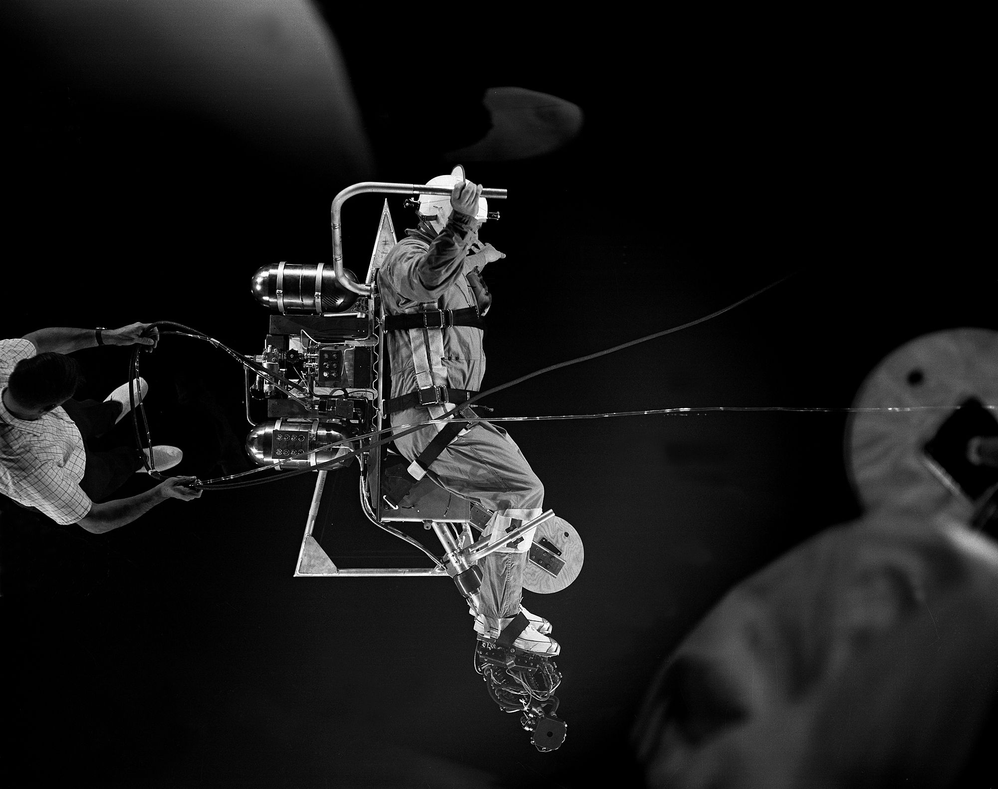 aerial view of reduced gravity simulation | Nasa space ...