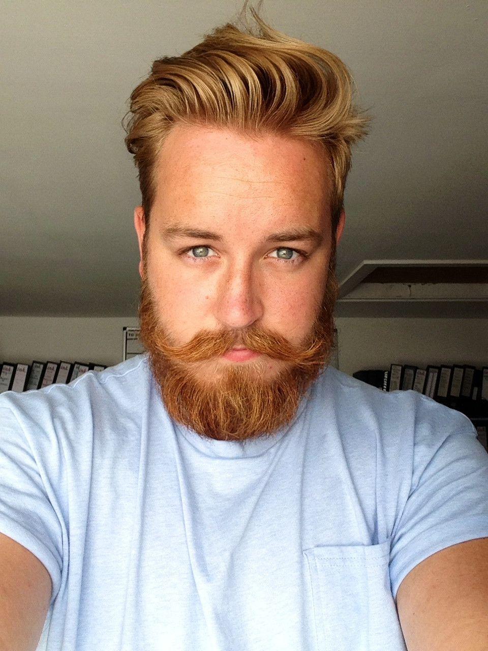 went to spain for a week, hair got blonder, beard still resolutely