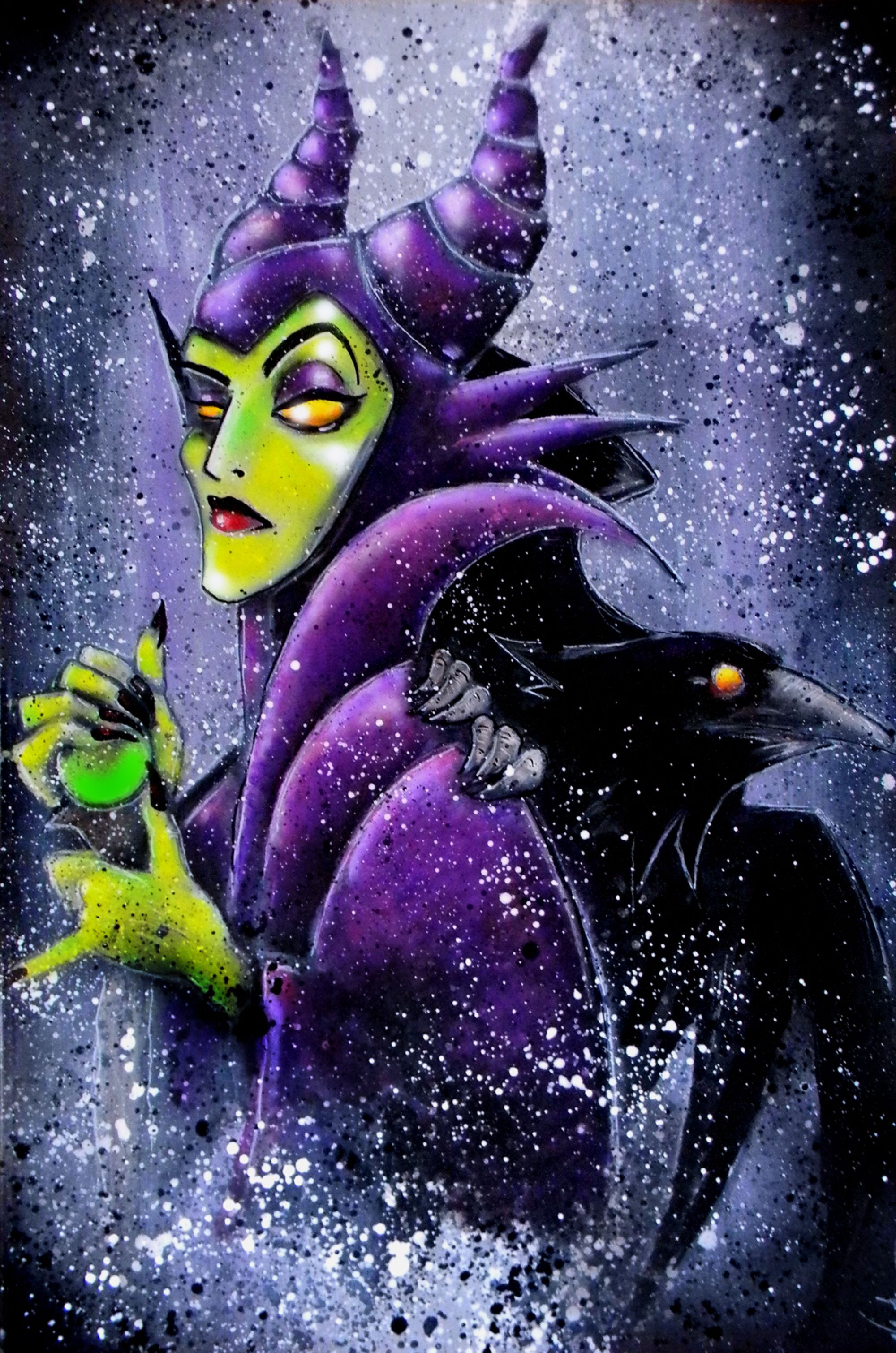 Maleficent by Vaughnb on DeviantArt Sleeping Beauty