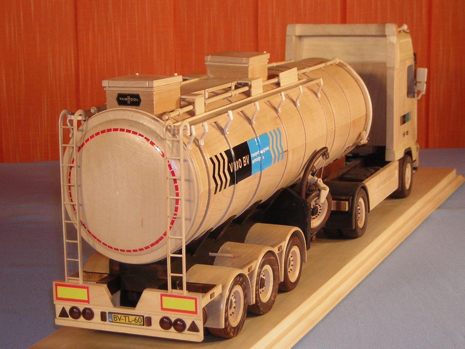 Hande Made Volvo Truck Model Train Tables Pinterest Wooden