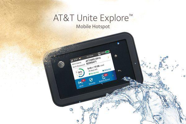 AT&T Unite Explore Mobile Hotspot (Netgear Aircard AC815S