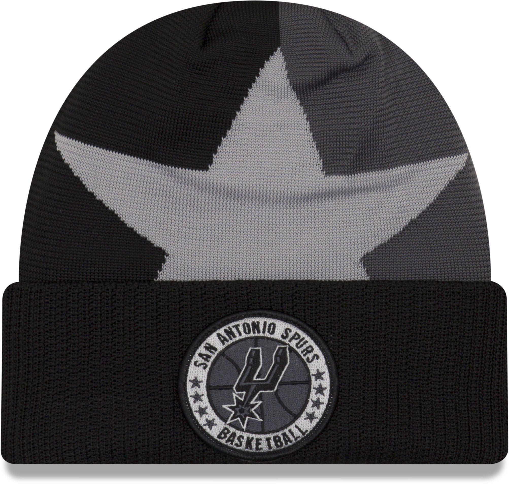 a8e15d1be2f5b San Antonio Spurs NBA 2018 Tip Off Series New Era Knit Beanie – lovemycap