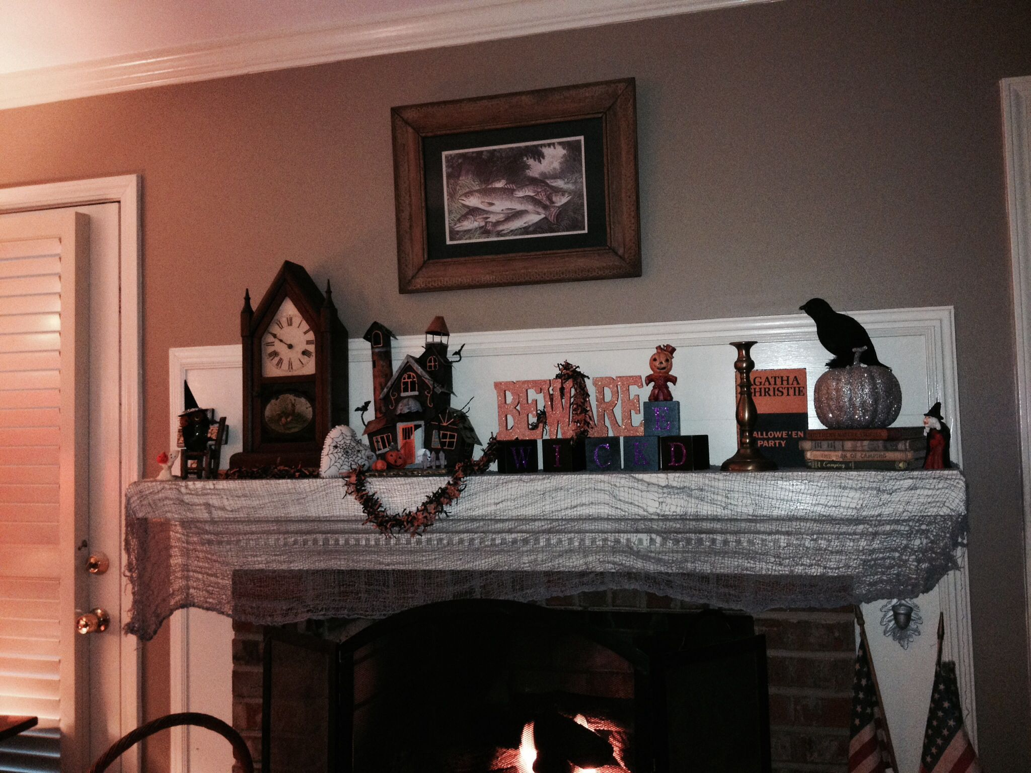 My Spooky Mantle