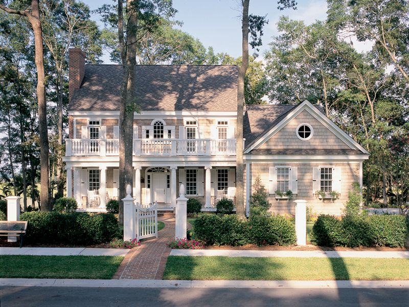 Chantelle southern home house plans colonial house for Traditional southern house plans