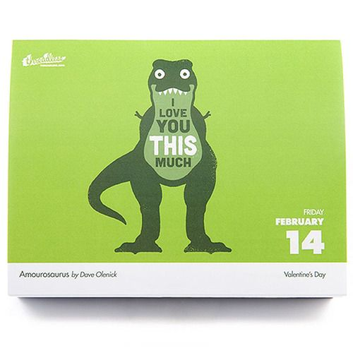 """TheThreadless 2014 Daily Desk Calendaris out. Just ordered mine. Ok, Threadless - since we're buds, you can call me """"Dave̶..."""