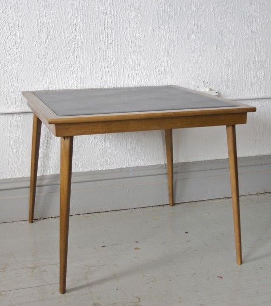 Mid Century Folding Table By Stakmore 195 Chicago Http