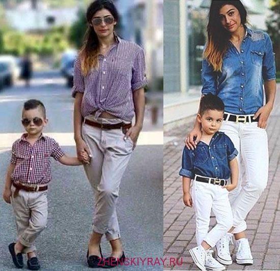 Модные детские образы 2018, тенденции одежды для девочек и мальчиков ... c3c6f029338