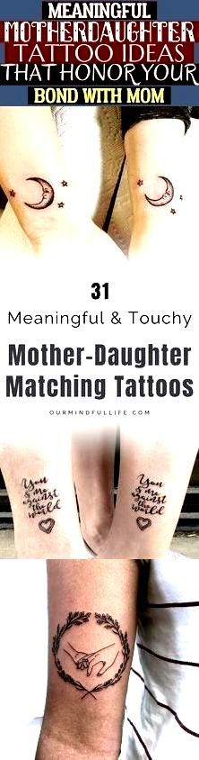 Photo of Meaningful Mother-Daughter Tattoo Ideas That Honor Your Bond With Mom- # #tattoo…