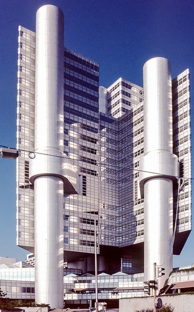 Hypo Bank Munchen Brutalist Architecture Architecture Collection Structure Architecture