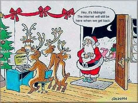 Funny Christmas Cartoons 01 | 'Tis the Season... | Pinterest ...