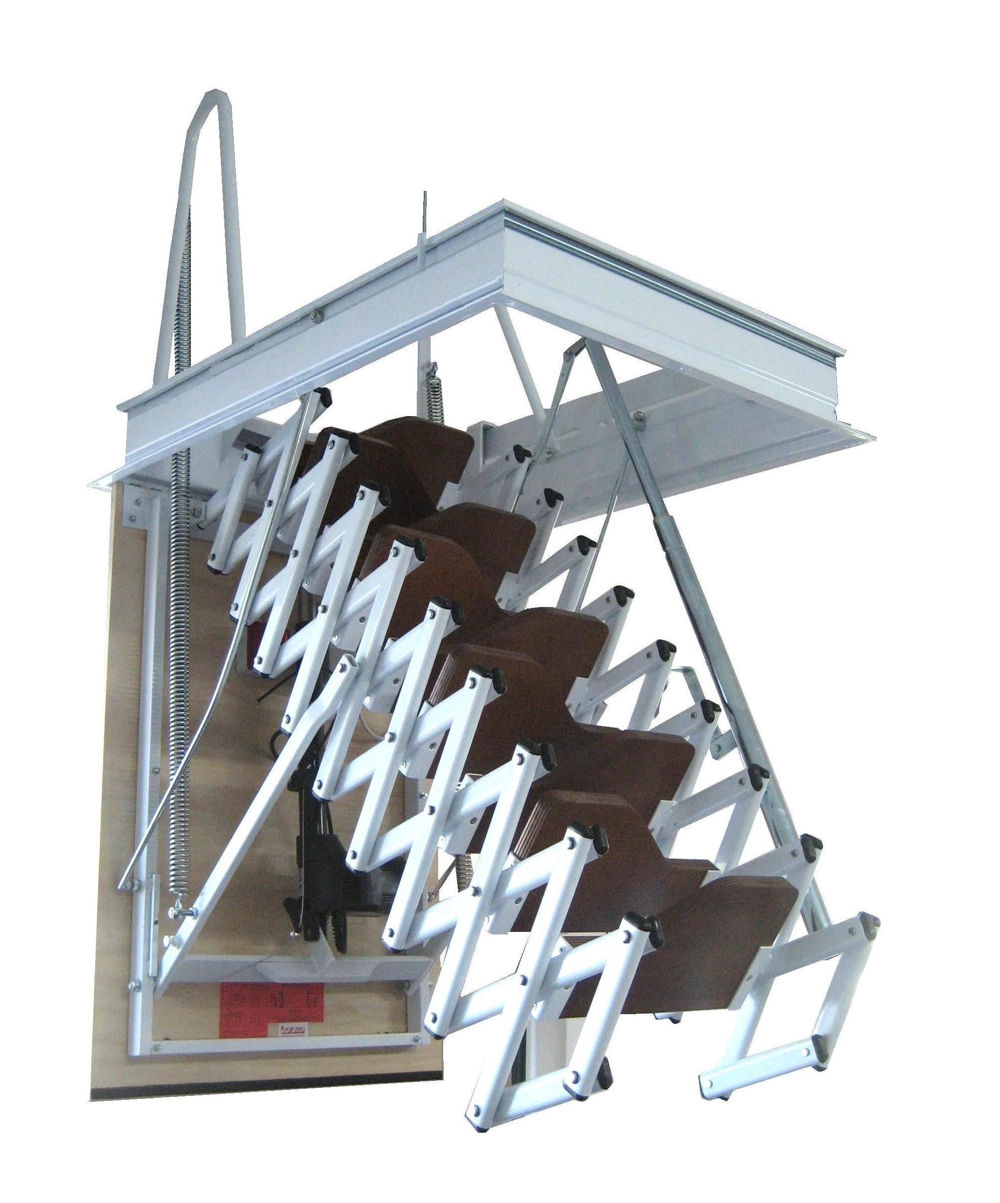 Elegant escalera plegable tipo tijera para techo archivos for Escaleras para buhardillas plegables