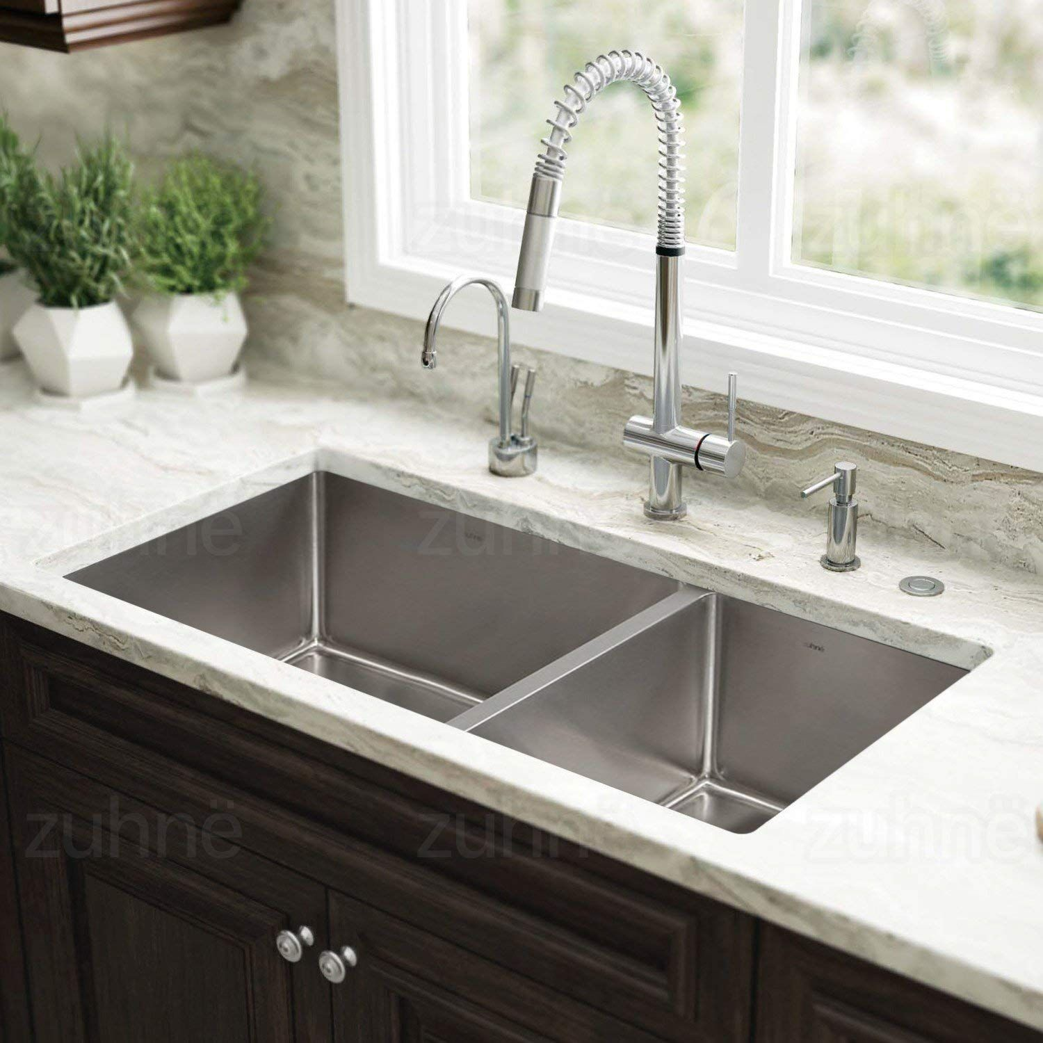 uncle paul best stainless steel sinks and his top choices kitchen undermount sink white shaker cabinets whirlaway garbage disposal apron front ikea reglaze free standing storage #whiteshakercabinets