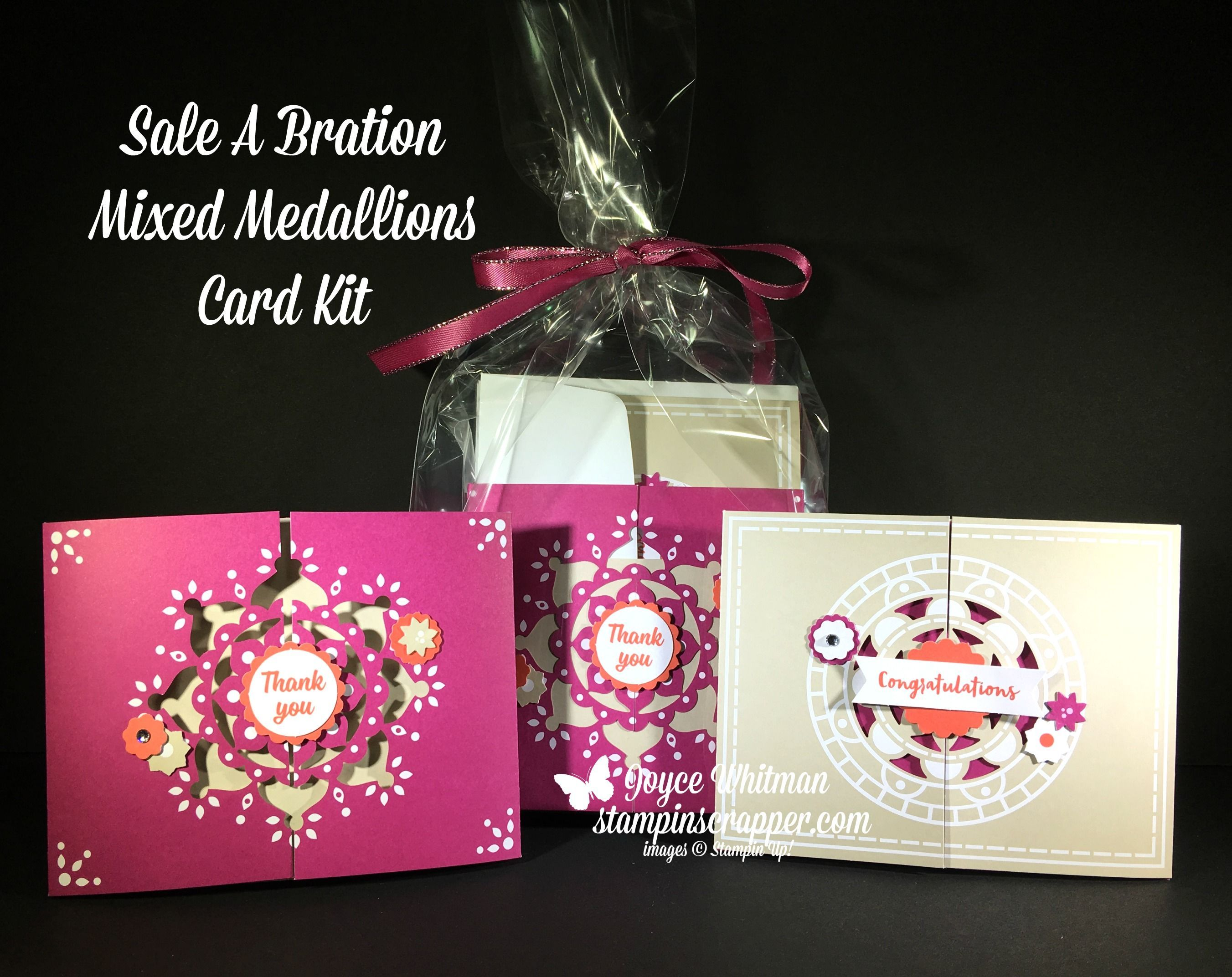 Mixed Medallions Card Kit - Sale-A-Bration   Card kit, Box and Cards