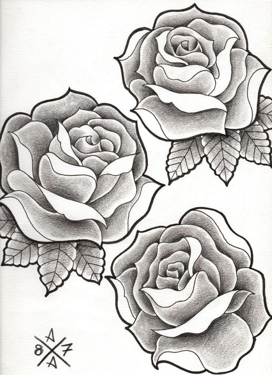 1 Favoritas Tumblr Tatuajes De Rosas Boceto De Rosa Rosas