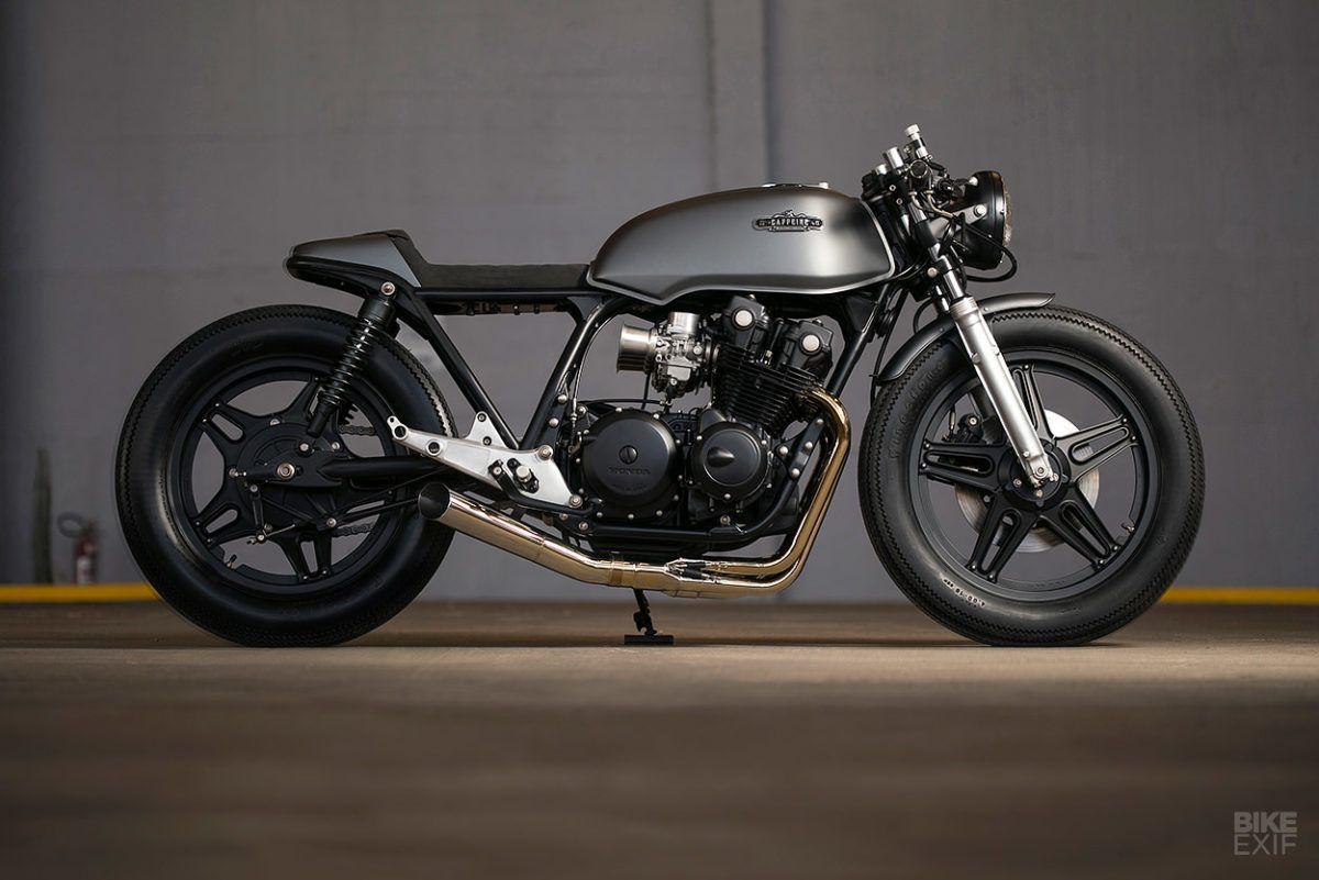 Honda Cb750 Cafe Racer >> Quatro Shot A Cb750 From The Gaucho Highlands Motos Cb