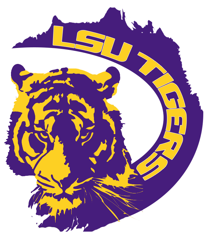 LSU State Logo with tiger