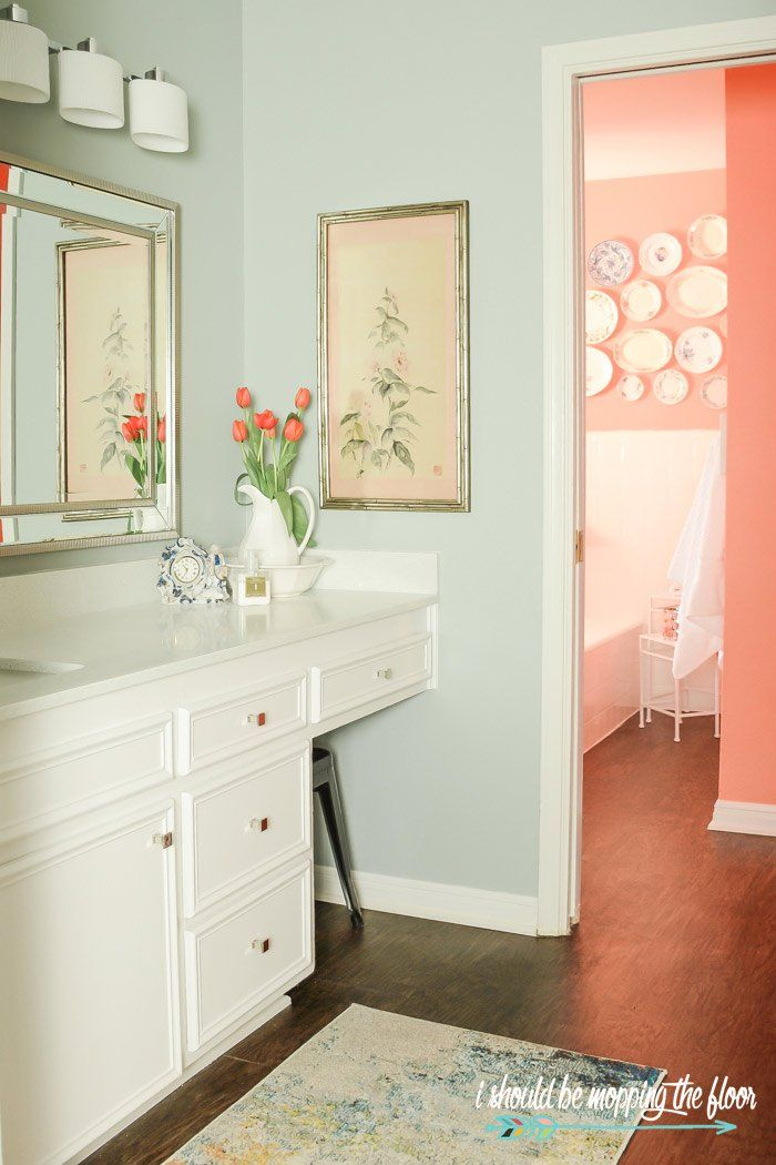 Mixing Bath and Bedroom Paint Colors | Bedroom paint ...