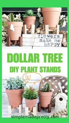 DIY Plant Stands