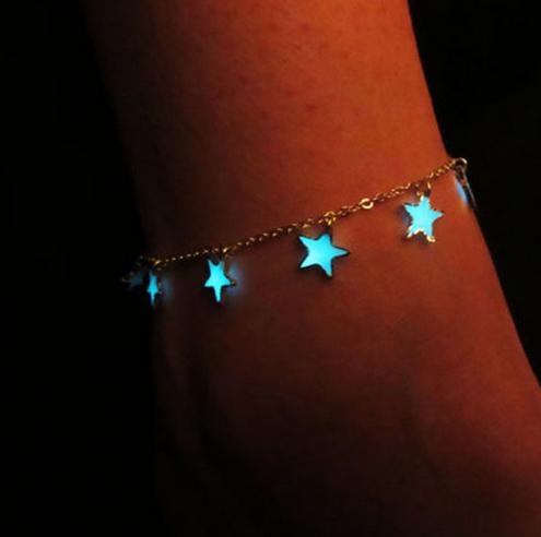 Fluorescent Glow In The Dark Bracelets