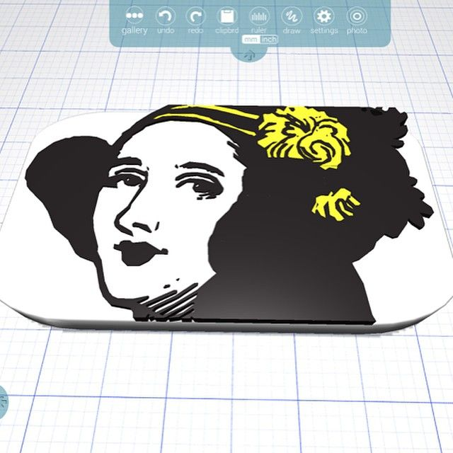 Something we liked from Instagram! Happy #AdaLovelaceDay!Everyday we celebrate the amazing lifecontributions of #LadyAda. Our tribute in Morphi using the photo album tool in the draw tool. #math #computerscience #ALD15 #mathematics #victorianera #engineering #algorithms #computerprogramer ##british #3dmodel #3Dprint #3ddesign #3dprinted #3dprinter #3dmodeling #maker #makered #makermovement #edtech #education #student #teacher #design #design #women #humanity by morphiapp check us out…
