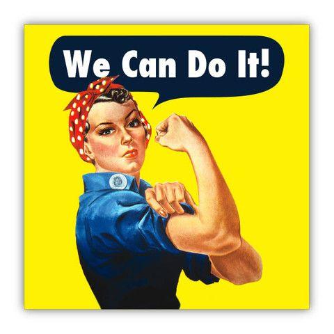 Rosie The Riveter -- Poster – Feminist Apparel