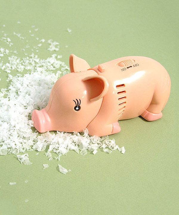 Look at this Pig Mini Tabletop Vacuum on #zulily today!