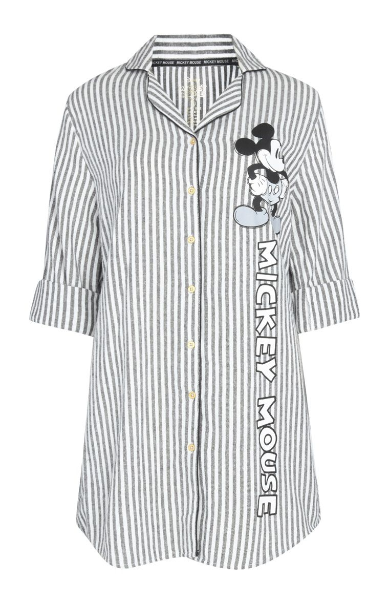 outlet promo codes catch Chemise de nuit Mickey Mouse monochrome | Wishlist en 2019 ...