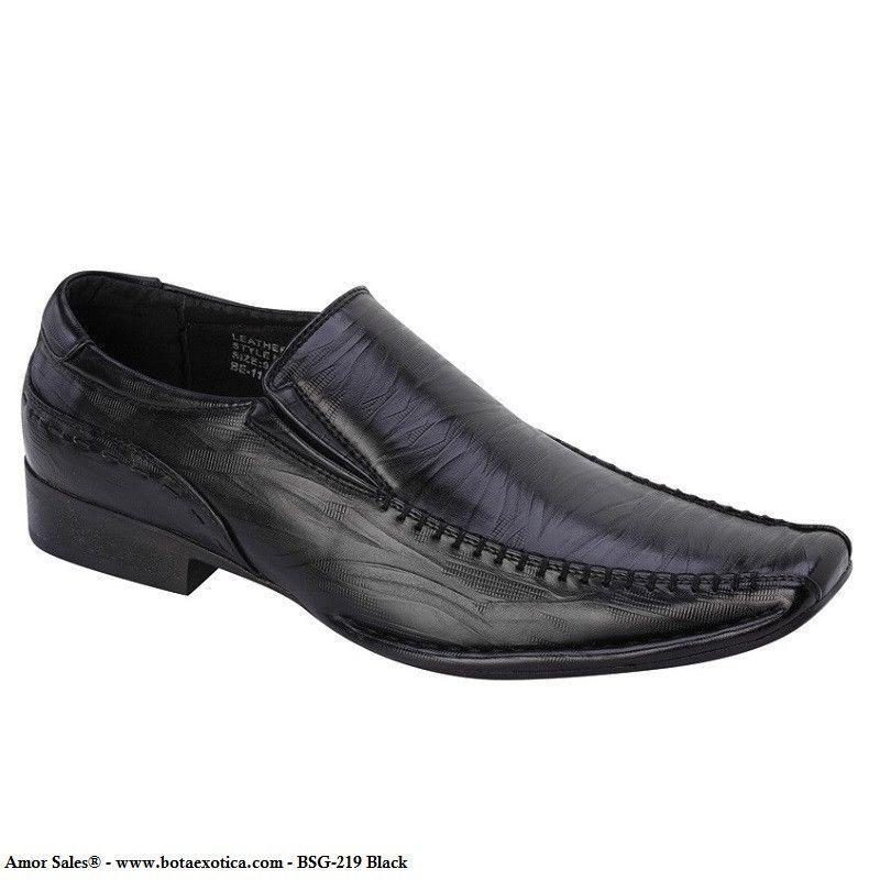Shoe Avenue - Mocasines de sintético para hombre, color azul, talla 7 UK / 41 EU