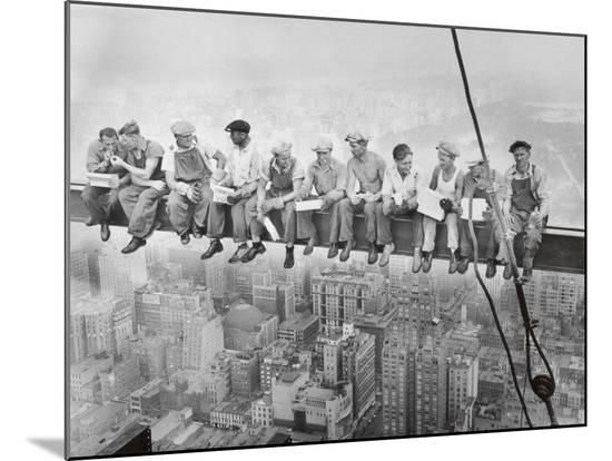 Lunch Atop A Skyscraper C 1932 Mounted Print By Charles C Ebbets Cool Posters Lunch Atop A Skyscraper Skyscraper New York Iconic Photos