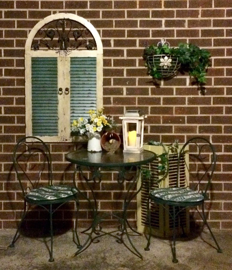 Diy Carport Sitting Area Who Says You Cant Dress Up Brick Got