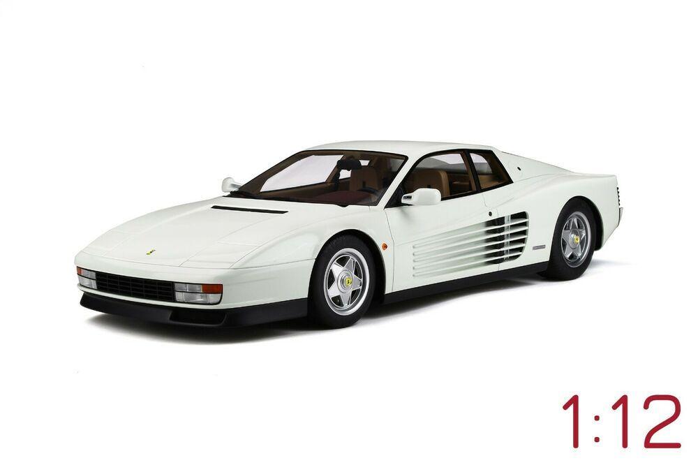 1 12 Scale 1987 Ferrari Testarossa White Model Car By Gt Spirit Gtspirit Ferrari Ferrari Testarossa Car Model Ferrari