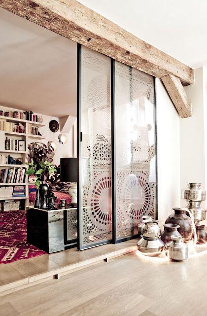 我們看到了。我們是生活@家。: 帶有印度風情的巴黎公寓!屋主Stephanie是販售印度居家商品Ouma productions的設計師