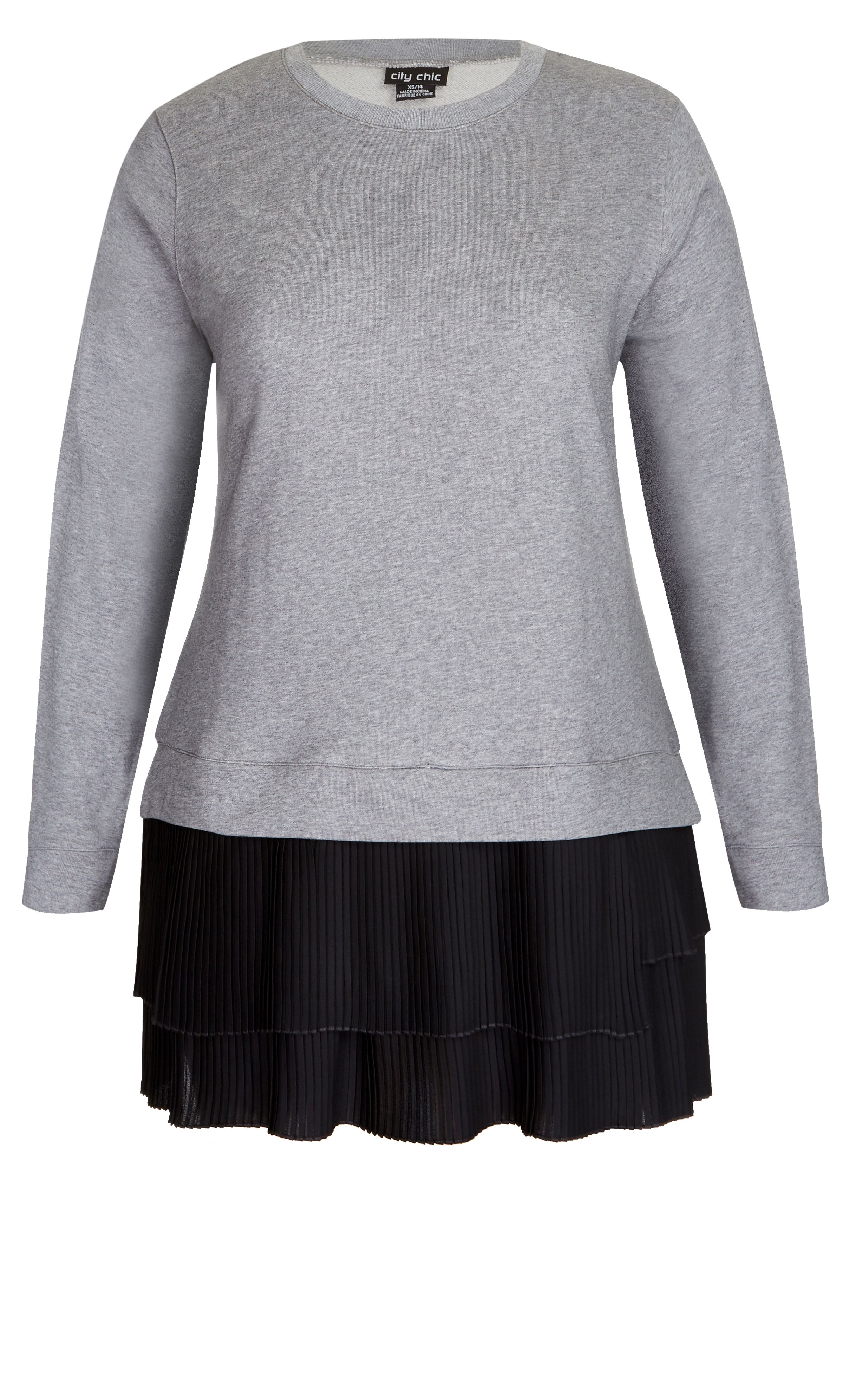 5826b0b360f Style By Trend  London Edit by City Chic - JUMPER LADY AXEL  citychic   citychiconline  newarrivals  ootd  plussize  plussizefashion  psootd