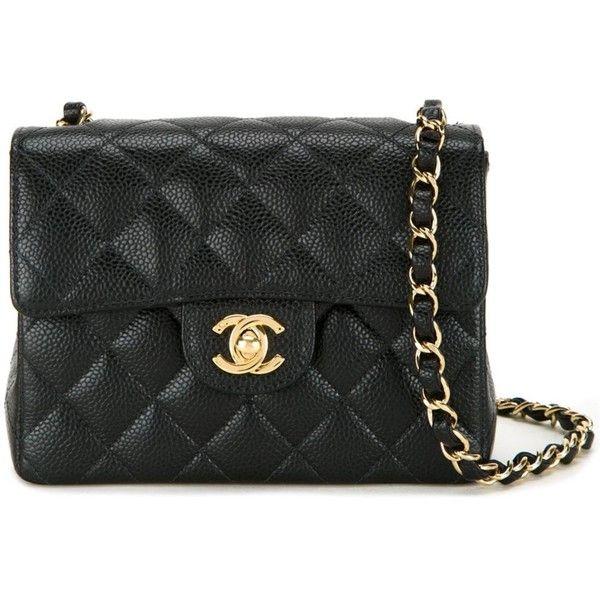 Chanel Vintage Mini Flap Shoulder Bag Shoulder Bag Genuine Leather Handbag Quilted Shoulder Bags
