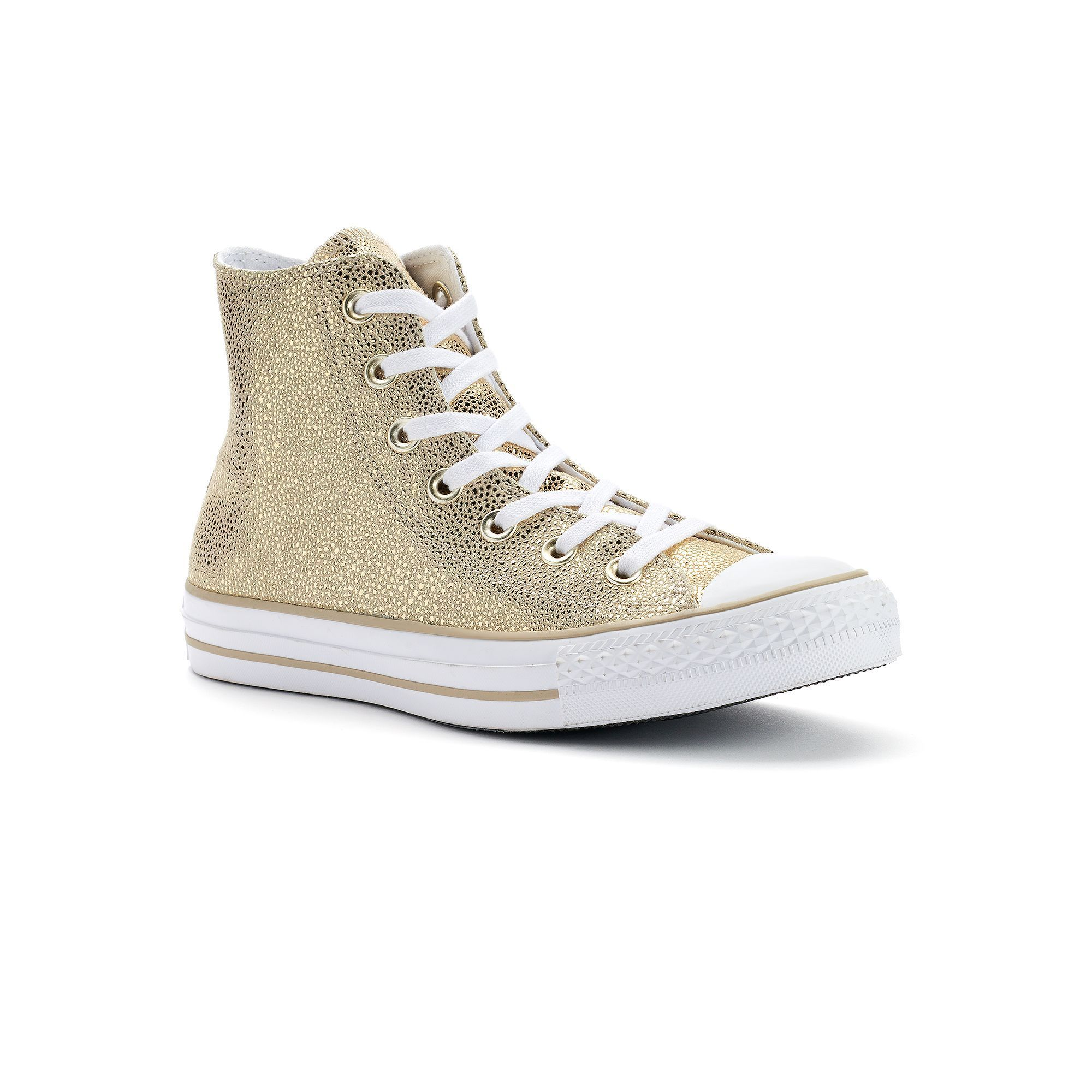 29968c391a19e1 Women s Converse Chuck Taylor All Star Stingray Metallic High-Top Sneakers