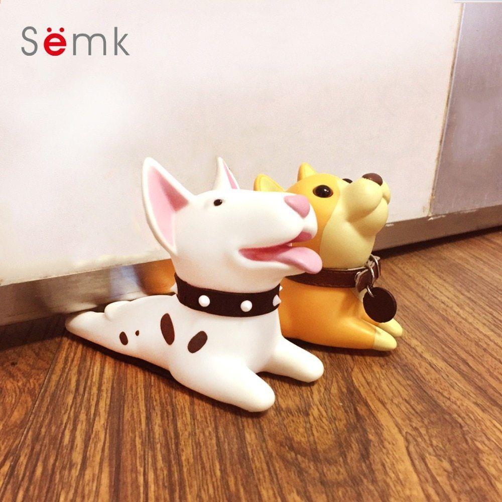 Semk Mignon Dessin Anime Terrier Chien Conception Porte Butoir De