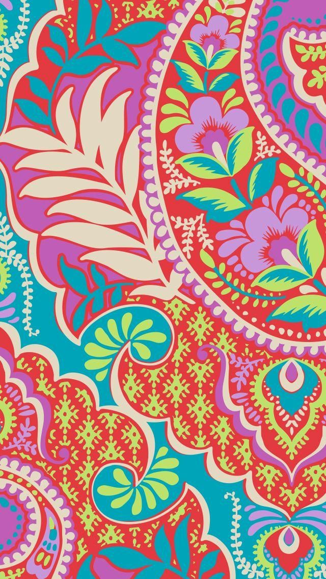 Paisley In Paradise Mobile Wallpaper Download Summer 2016